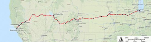 Amtrak Route