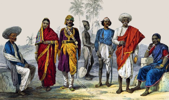 History of Clothing in India
