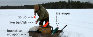 Making Your Own Ice Fishing Tip-Ups