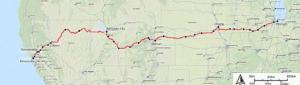 Amtrak Route